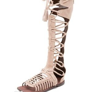 9c1ff9e39975 Women s Lace Up Gladiator Sandals Knee High on Poshmark